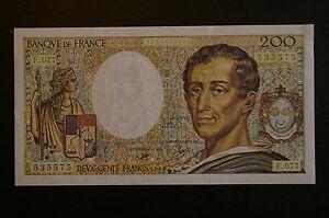 Billet-de-200-Francs-Montesquieu-type-1981-de-1990-SPLENDIDE