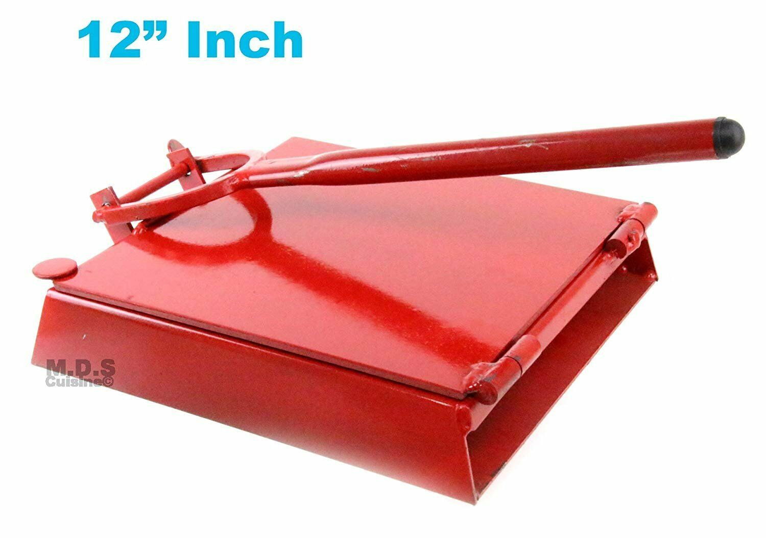 "Tortilla Press 12"" rot Heavy Duty Iron Restaurant Commercial Authentic..."
