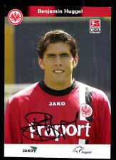Benjamin Huggel Autogrammkarte Eintracht Frankfurt 2005-06 Original +A 126624