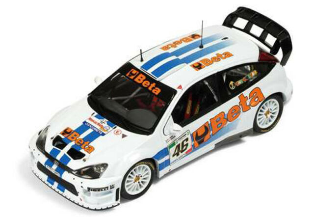 Ixo Ford Focus RS 07 WRC Rallye Monza 2007 V. Rossi 1/43 RAM369