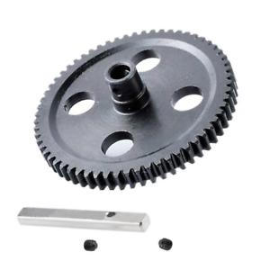 Metal Center Reduction Main Spur Gear 62T For WLtoys 12428 12423 RC Part #0015