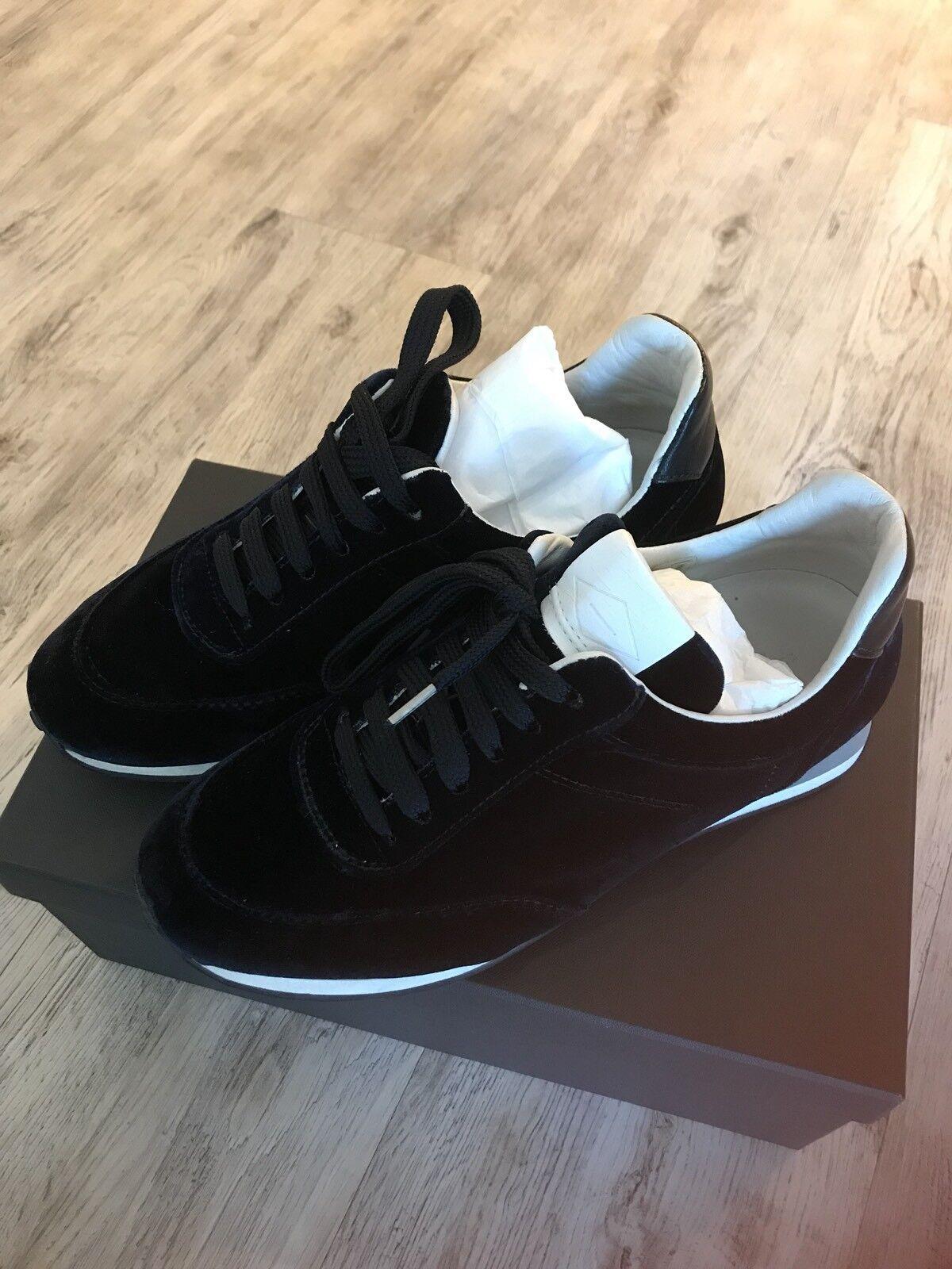 Rag & Bone Dylan Runner-Navy Velvet Women's Sneakers/Shoes EU37.5 US7.5 *USED*