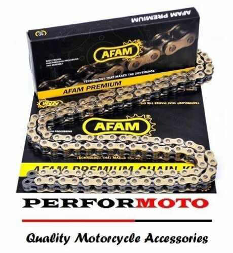 AFAM Recommended Gold Chain 114 Link Suzuki RM250 K4-K9 04-09