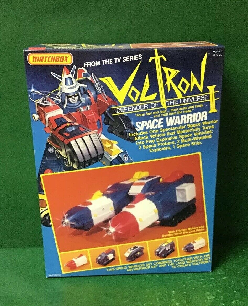 1984 VOLTRON I  SPACE WARRIOR NIB BY MATCHBOX