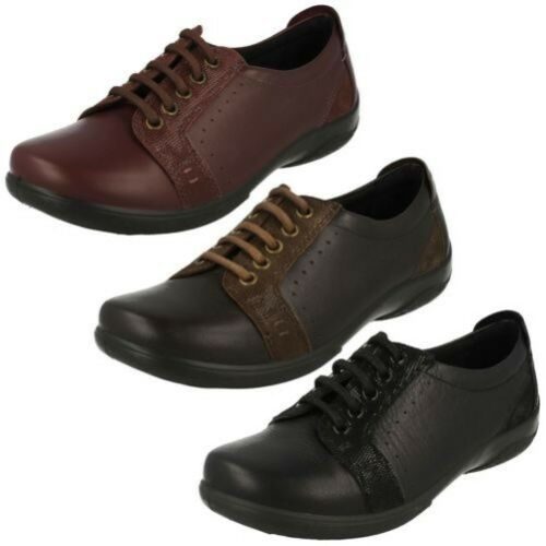 Sonnet Ladies Shoes Dual Padders Fit Lace Up YvaY4qF