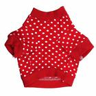 #Xmas WINTER PET DOG CLOTHES JUMPSUIT COAT JACKET CLOTHING PUPPY SWEATER RED S