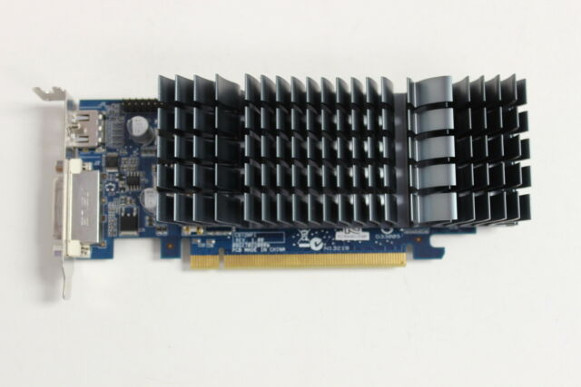 ASUS GeForce EN210 Silent 1GB DDR3 HDMI DVI VGA Low Profile Graphics Video Card