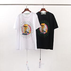 0b87584c New Off White Bart Simpson Chill Man Summer T Shirt Short Sleeves ...