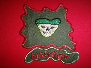 US-5th-Special-Forces-Group-Recon-Team-MAGGOT-Vietnam-War-Patch