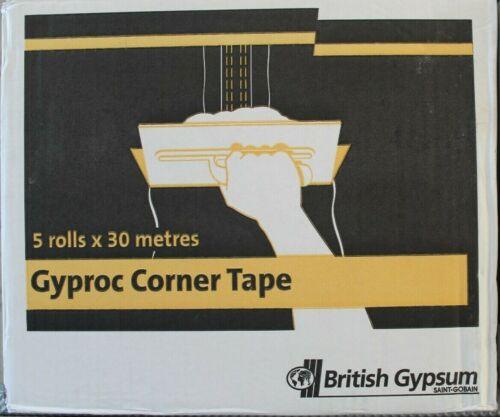 British Gypsum Gyproc Corner Tape 5 Rolls