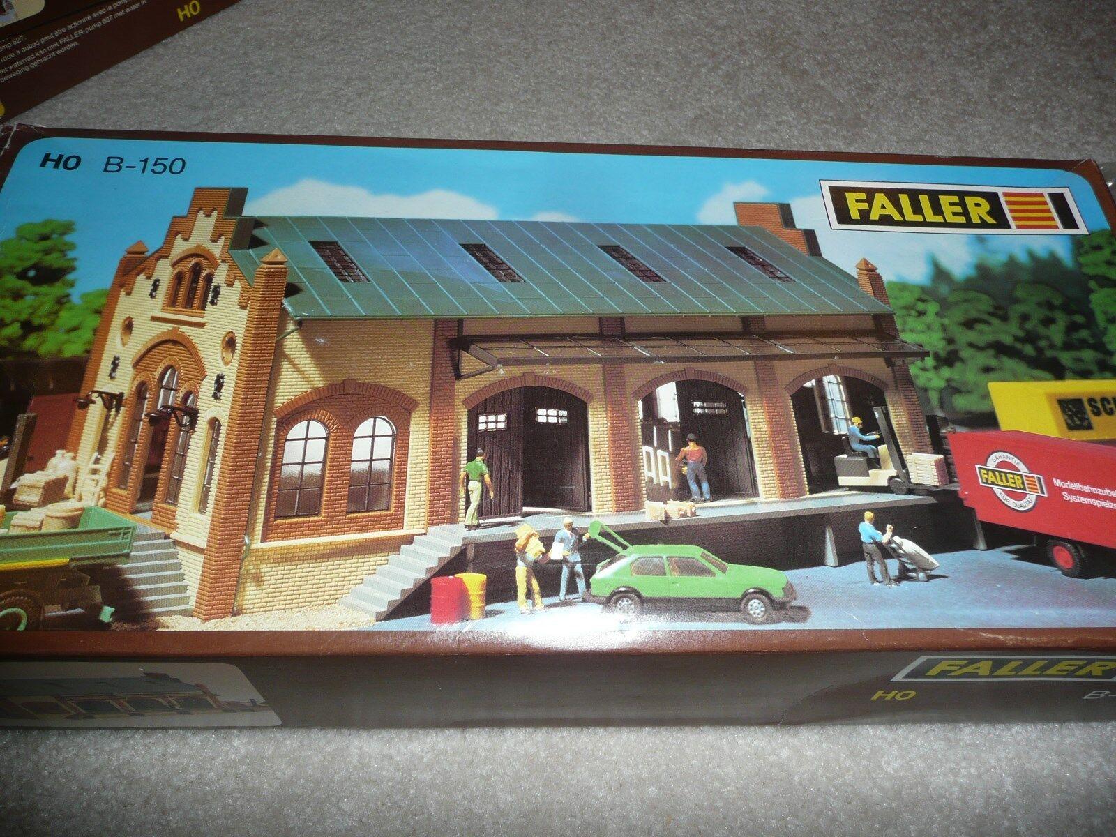nuevo 187 Ho Escala Faller B-150 mercancías Casa Kit (ea-0-7001)