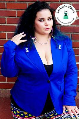 PLUS Royal Blue Blazer! Only 1X left~~!!!