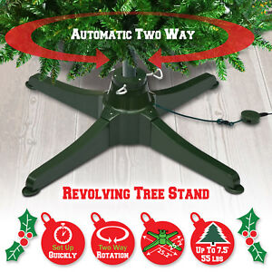 Rotating Tree Stand for 7.5ft Artificial Christmas Tree ...