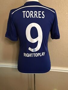 Image is loading Chelsea-England-Torres-Atletico-Madrid-Shirt-CL-Football- 4827f9e79