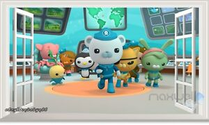 the octonauts 3d window removable sticker wall decals kids children wall decals wall sticker octonauts characters