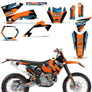 Details about Dirt Bike Graphics Decals For KTM SX,EXC,MXC,SMR  125/200/300/525/560 05-07 BLAST