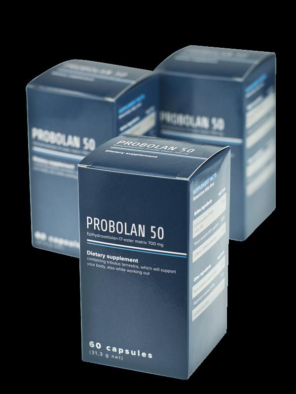 3x Probolan 50 Integratore per l'aumento della massa muscolare Somatodrol