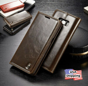For-Samsung-Galaxy-Note-8-Luxury-Flip-Leather-Wallet-Stand-Phone-Case-Cover-New