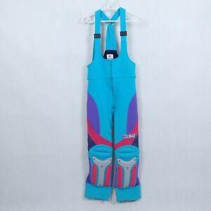 COLMAR-Womens-Multi-Snowboard-Ski-Plastic-Knee-Padded-Salopettes-Pants-SIZE-M