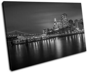 San-Francisco-Skyline-Night-City-SINGLE-CANVAS-WALL-ART-Picture-Print