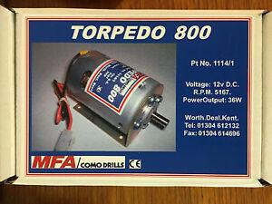 Amf Torpedo 800 Marine Moteur électrique (1114/1)-afficher Le Titre D'origine