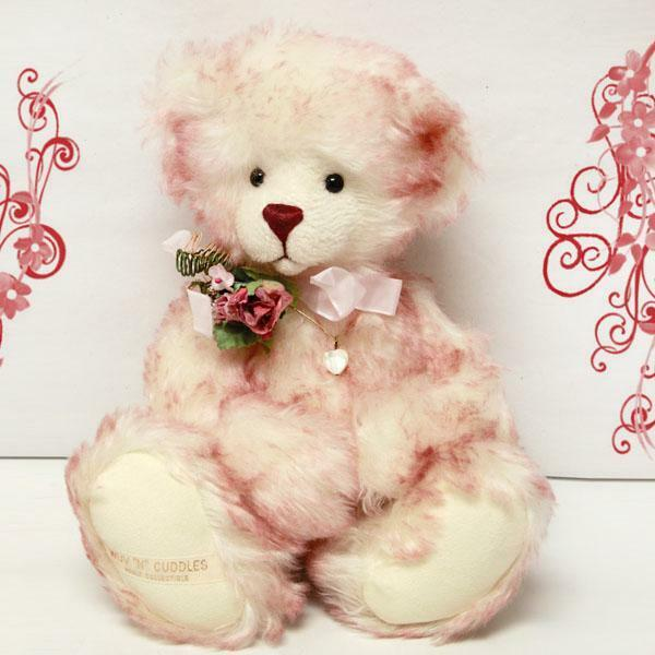 Kaitlyn by Barbara Burke - Wuv 'N'  Cuddles for Cooperstown Bears