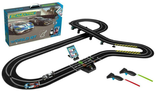 Scalextric ARC AIR World GT Ford VS Mercedes 1:32 Scale Slot Car Race Set C1403T
