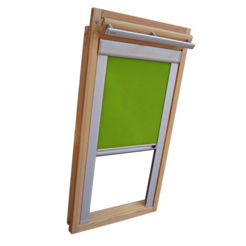 Dachfensterrollo Sichtschutzrollo mit Schienen für Blefa BL BSK limone