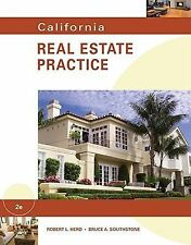 California Real Estate Practice by Bruce A. Southstone and Robert L. Herd (2010, Paperback)
