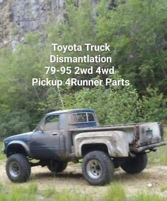 Toyota Truck Dismantlation