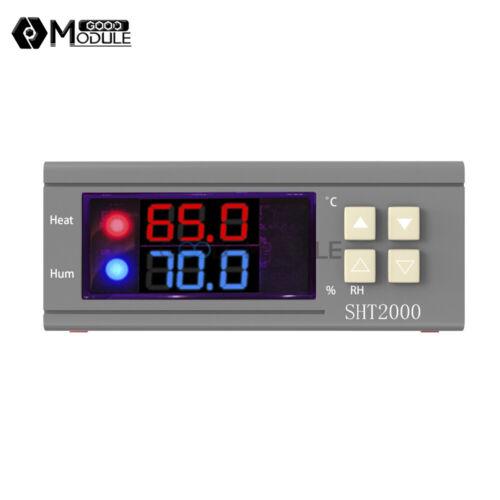 SHT2000 10A AC110-230V//DC12-72V Temperature  Hygrometer Controller Thermostat