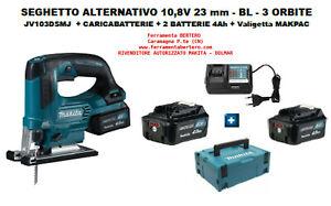 SEGHETTO-ALTERNATIVO-MAKITA-10-8V-12V-caricabatt-2-batterie-4Ah-MAKPAC