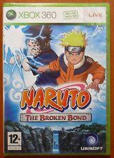 Naruto: The Broken Bond, Xbox 360, Pal-España ¡¡NUEVO Y PRECINTADO A ESTRENAR!!