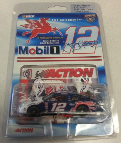 JEREMY MAYFIELD 1998 MOBIL 1//64 ACTION DIECAST CAR LIMITED EDITION