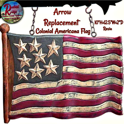 Country Primitive Colonial Americana Hanging Crow Watermelon Arrow Replacement