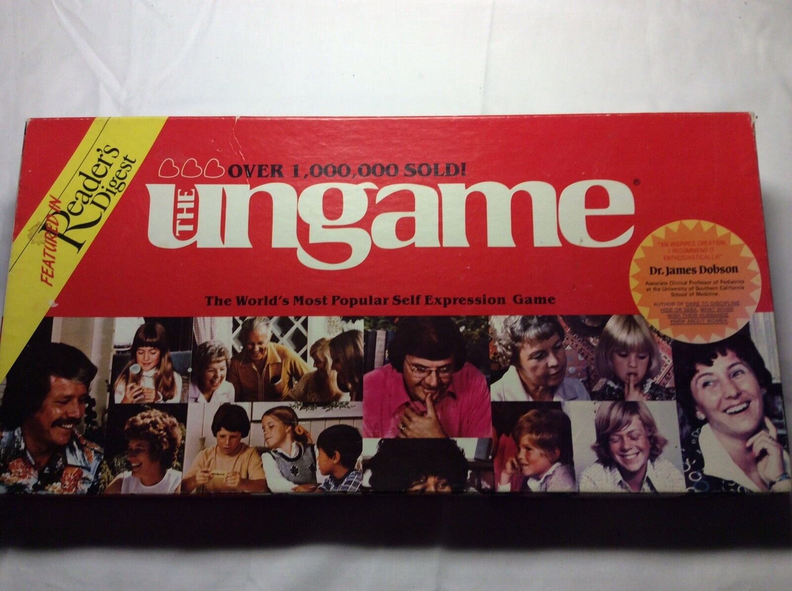 THE UNGAME (from 1984) THE WORLDS MOST POPULAR SELF EXPRESSION BOARD GAME in VGC