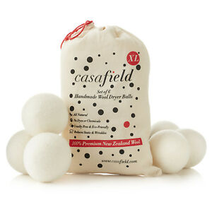 6-Wool-Dryer-Balls-XL-Organic-New-Zealand-Wool-Natural-Laundry-Fabric-Softener