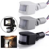 3 Couleur 12M LED sécurité Motion Sensor PIR Détecteur infrarouge murale 140° HD