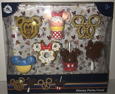 Disney Parks Foods D Lish Snack Goals Mickey Donut Treat Yo Self 4 Patched Set