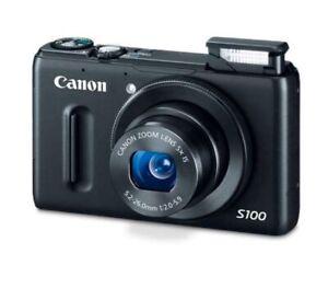 CANON-PowerShot-S100-Compact-Digital-Camera-12MP-GPS-Tracker-Black-BRAND-NEW