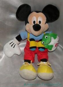 09f713745405 Neuf Rare Disney Store Peluche Bonnet 30.5cm Nature Promener Mickey ...