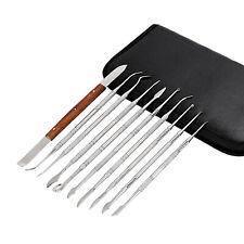 5pcs Dental Spatula Plaster Wax Carving Knife Teeth Whitening Tools Kit 10 Types