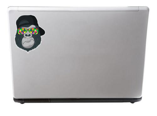 2 x Cool Gorilla Vinyl Stickers Decal Laptop Car Bike Helmet Ape Monkey #6696//SV