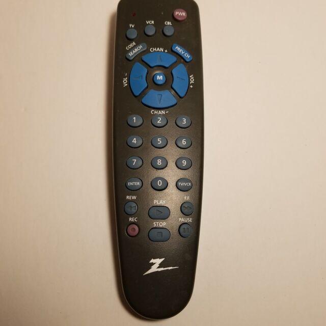 Zenith Remote Control Zen 350kb Sk16 003 Tv Vcr Cable Ebay