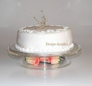 Image Is Loading CLEAR ACRYLIC STACKED PEDESTAL WEDDING CAKE STAND 14