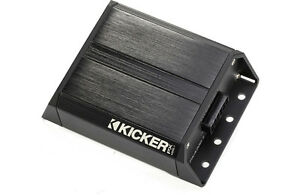 Kicker 42PXA2001 Compact Mono Subwoofer Amplifier. Water Resistant RTV ATV Boats