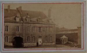 Casa Grande Contenitore Acqua Francia Foto CDV PL45L2n25 Vintage Albumina c1870