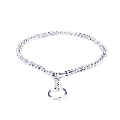 da8d86e13bdc2 3mm Dog Choke Chain Collar Herm Sprenger | Chrome-Plated Anti Pull Dog  Collar | eBay