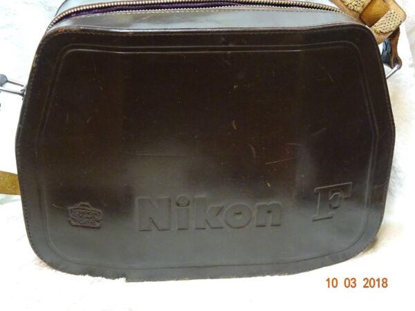 2019 Nouveau Style Nikon F Case Collectors Peice Super Rare Kogaku Japon Nippon Lenses + Camera Etc Rendre Les Choses Commodes Pour Le Peuple