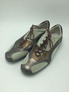 8M Gold Narrow Sneakers Shoes CIROS   eBay